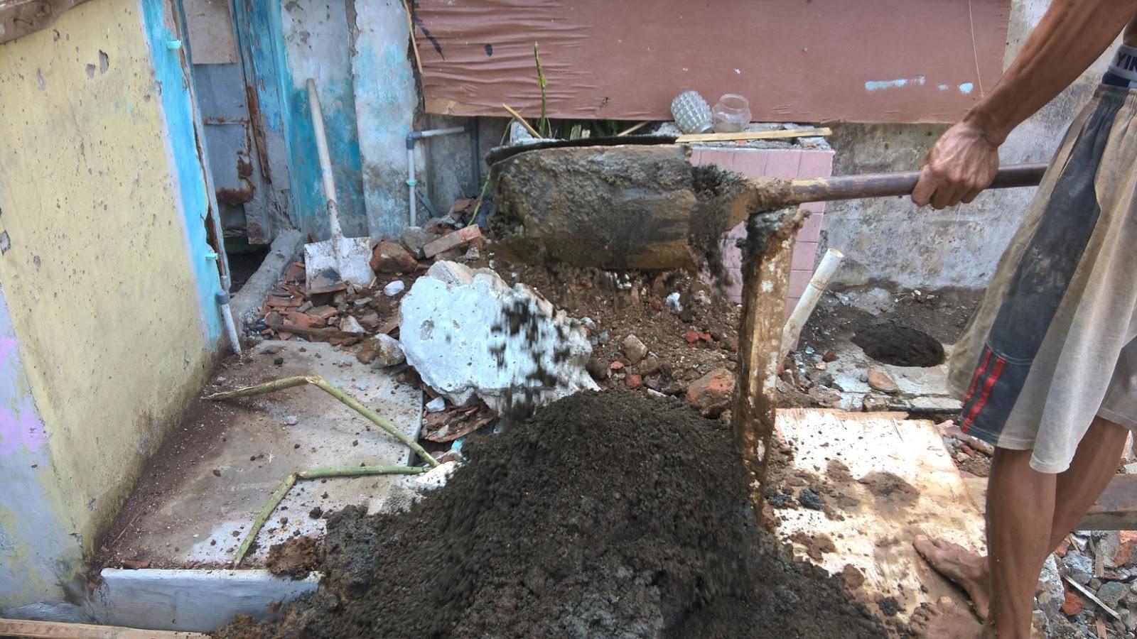 Pengeboran tanah berpasir Jakarta