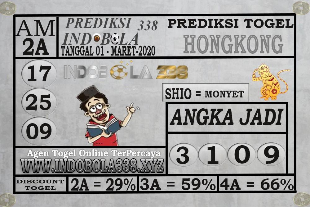 Prediksi HK Malam Ini Rabu 01 April 2020 - Prediksi Indobola