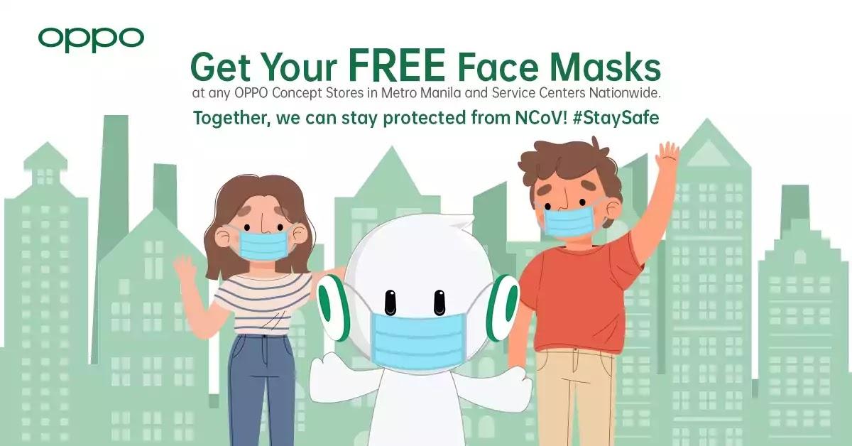 OPPO Face Mask Advisory