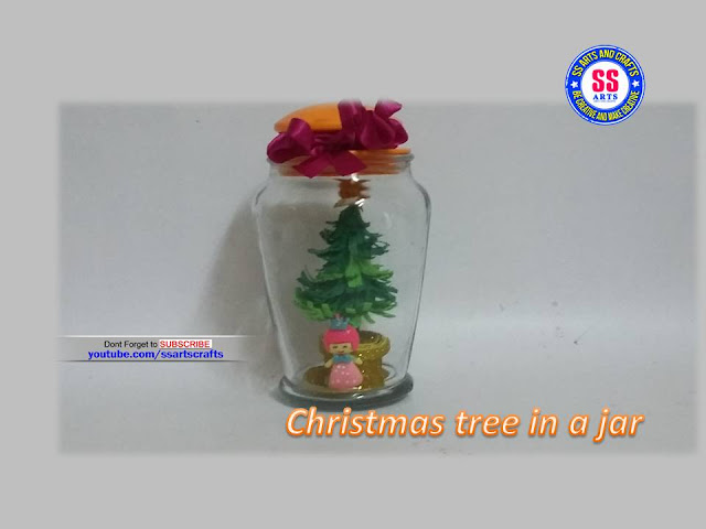 Here is christmas crafts,christmas decorations,christmas ornaments,how to make bottle christmas mini tree,how to make table top christmas tree,how to make foam sheet charistmas tree,how to make christmas in a jar foam sheet christmas tree