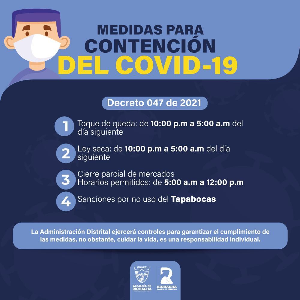 https://www.notasrosas.com/Alcalde de Riohacha decreta Ley Seca y Toque de Queda, por aumento de contagios por Covid-19