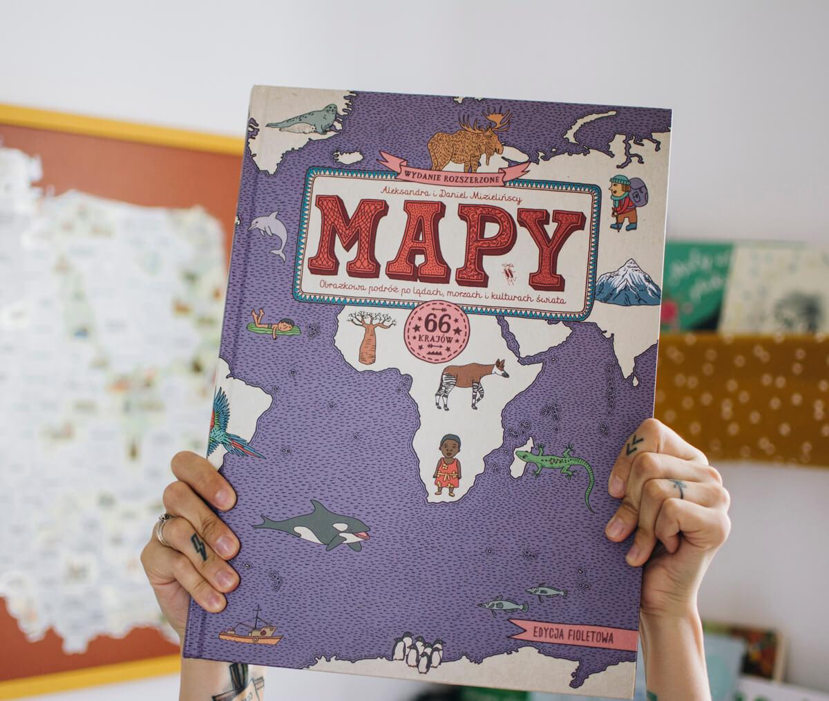 Aleksandra i Daniel Mizielińscy - Mapy