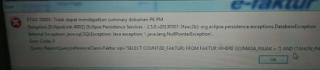 Solusi ETAX-50001 : Tidak dapat mendapatkan summary dokumen PK PM saat buat SPT