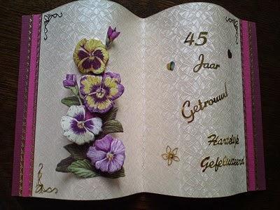 jubileum 45 jaar getrouwd 12,5 jaar getrouwd | huwelijk | trouwkaarten: 45 jaar getrouwd jubileum 45 jaar getrouwd