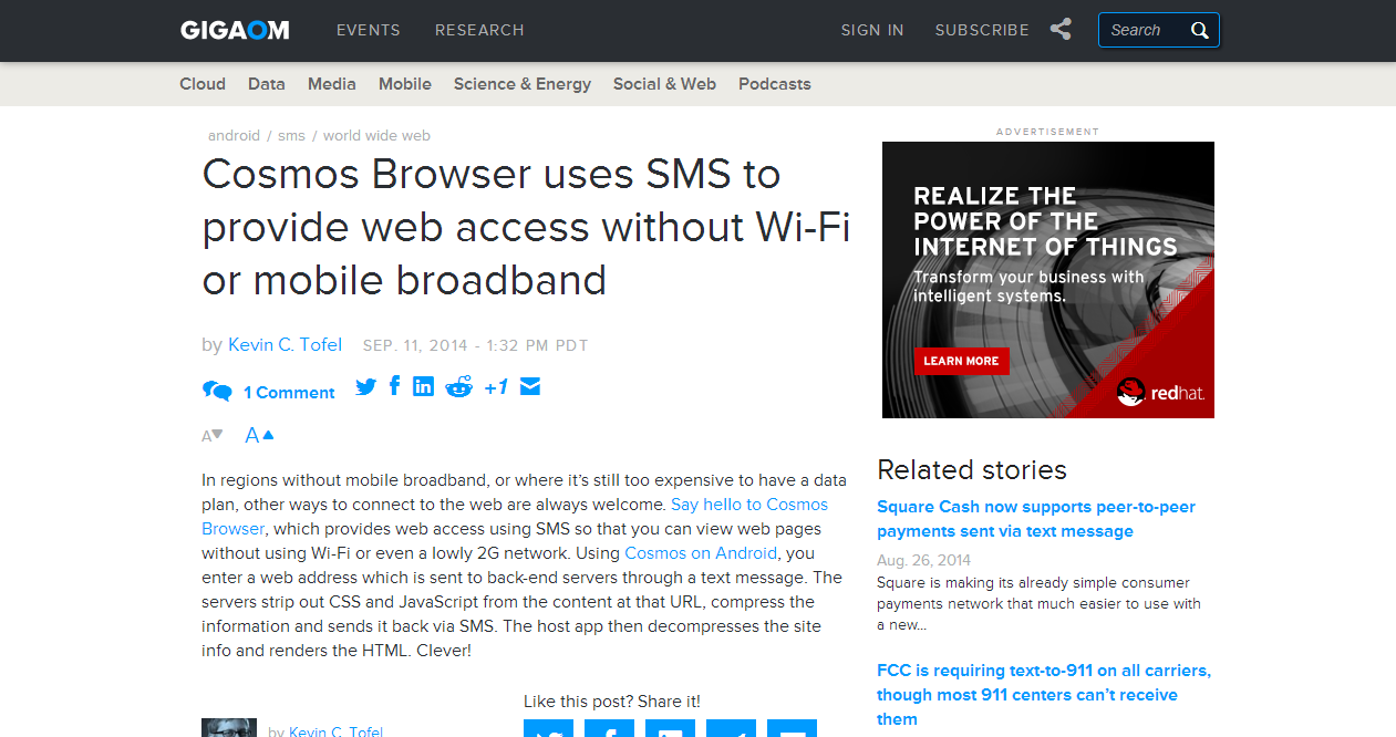 How to do web surfing without WIFI or 3G, over SMS?