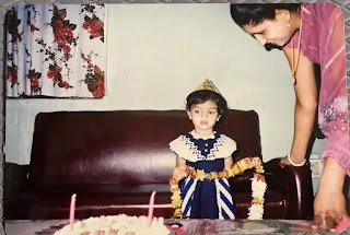 Akanksha Puri Childhood Image