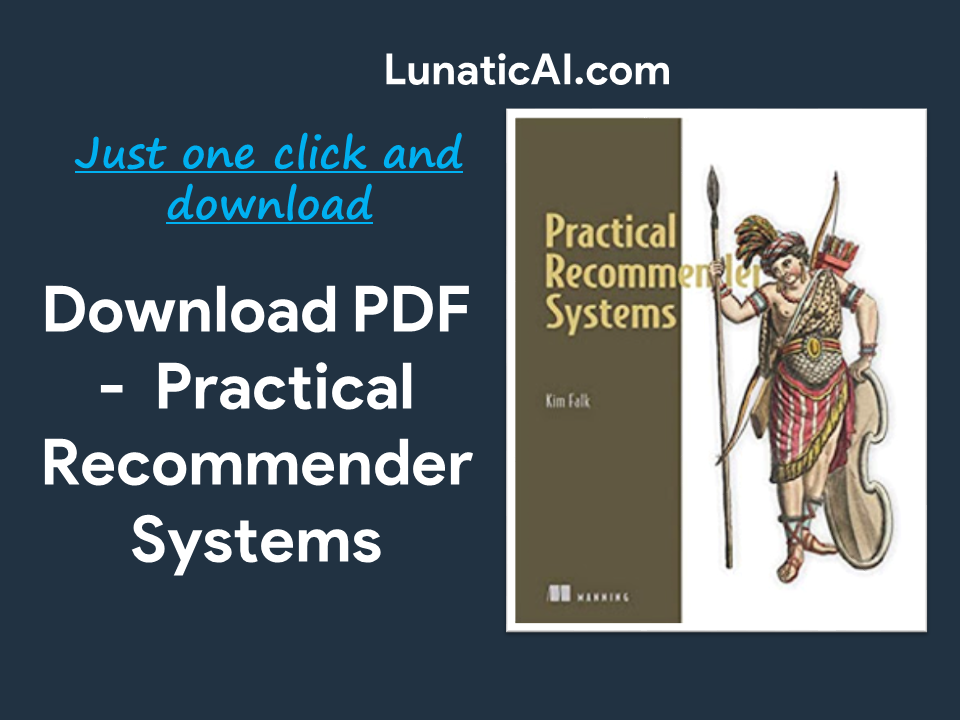 Practical Recommender Systems PDF GIthub