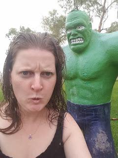 Wycliffe Wells Hulk & Elvis sculpture | Australian Roadside Attractions
