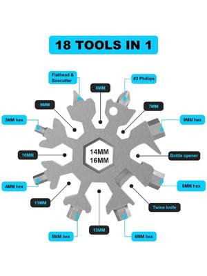 18-in-1 Multi-Tool Stainless Steel