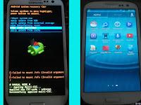 Fix Cara Memperbaiki Samsung S3 I9305 E: failed to mount /efs (invalid argument)