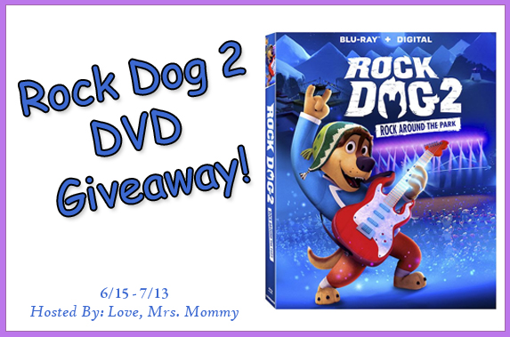 rock dog 2, rock dog 2 rock around the park, rock dog dvd giveaway
