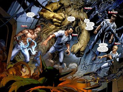 Reseña de Marvel Integral. Ultimate Spiderman 5: Los Seis Siniestros, de Michael Bendis y Mark Bagley - Panini Comics