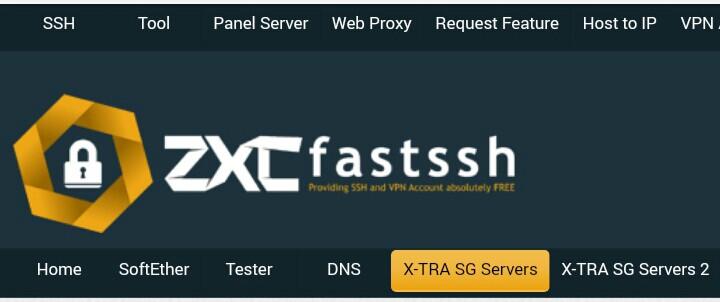Cara Membuat Akun SSH X-SGDO Premium Gratis Terbaru