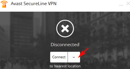 Avast SecureLine vpn setup