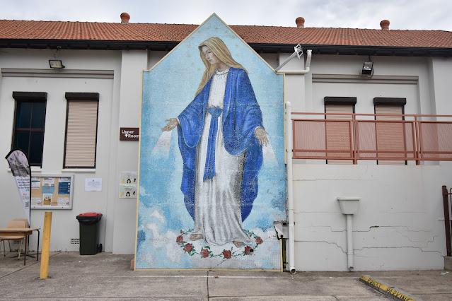 Arncliffe Street Art | St Mark Coptic Christian Orthodox Church