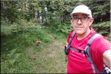 Almurrain mendiaren gailurra 881 m. - 2018ko ekainaren 15ean