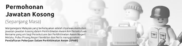 Permohonan Online SPA Melalui Borang SPA8i Bagi Calon Lepasan SPM