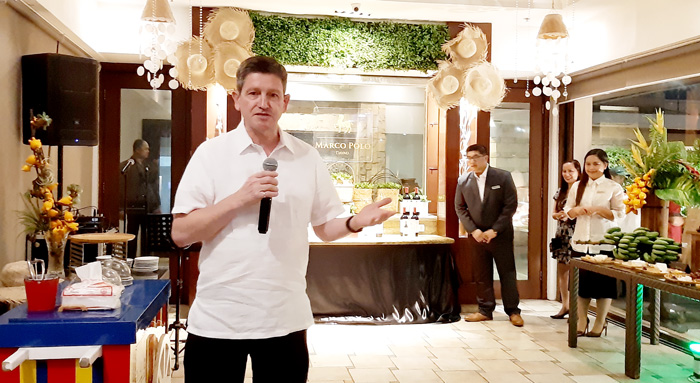 Colin Owen Healy, Marco Polo Davao General Manager