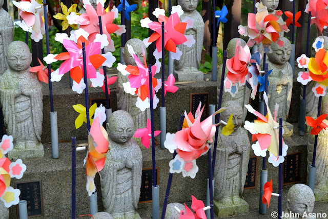 Rows of Jizo Statues at Koanji Temple