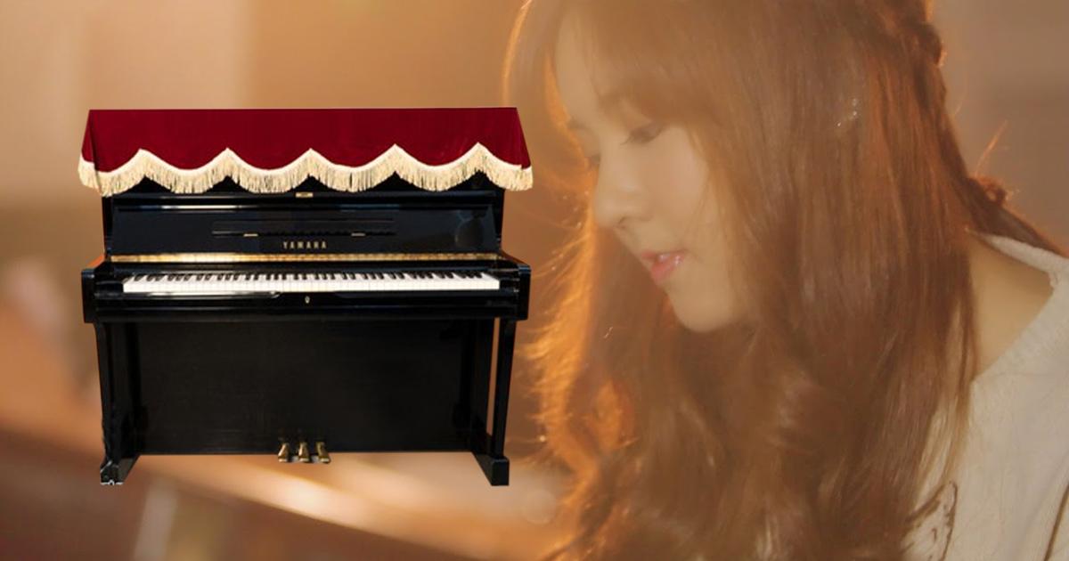 Khuyến Mãi Ghế Piano Nhật, khăn phủ đàn, phủ phím