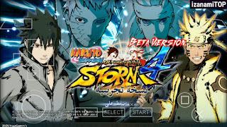 (500MB) Jeu Gratuit Naruto Shippuden Ultimate Ninja Storm 4 MOD PPSSPP pour le dernier Android