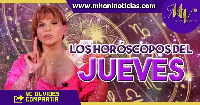Los Horóscopos del JUEVES 14 de ENERO del 2021 - Mhoni Vidente