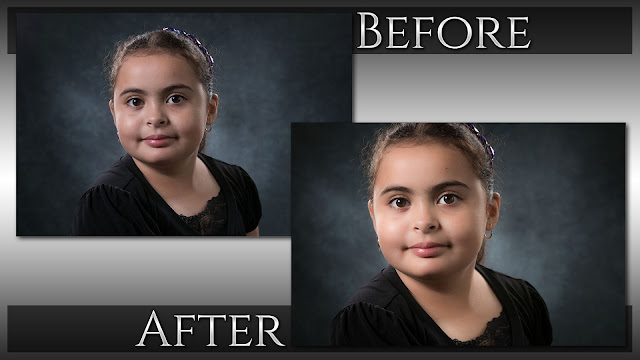 Short Lighting Portrait Retouching | Lightroom 6 & CC Tutorial - Before & After © Exodist Photography