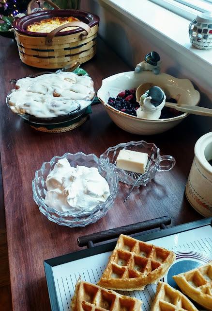brunch/breakfast food