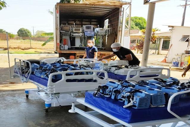Com queda em internações por Covid-19, Sesau desativa 30 leitos de UTI em Porto Velho