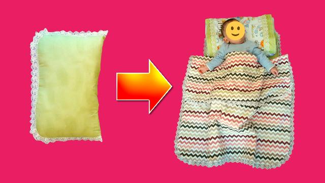 Sürpriz-Yumurtlayan yastık dikimi nasıl yapılır? | Bebek  sürpriz yastık dikimi