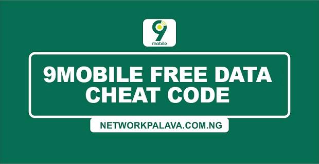 9mobile free data cheat code