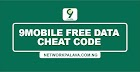 9mobile Free Data Cheat Code 2020: Claim 2.5GB Instantly