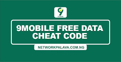 9mobile free data cheat code