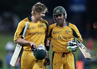 Shane Watson 136* - Ricky Ponting 111* - Australia vs England 1st Semi-Final ICC CT 2009 Highlights