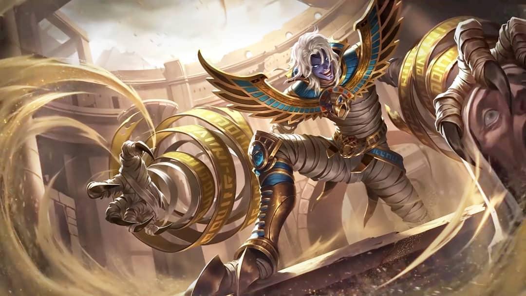Wallpaper Khufra Desert Owl Skin Mobile Legends HD for PC