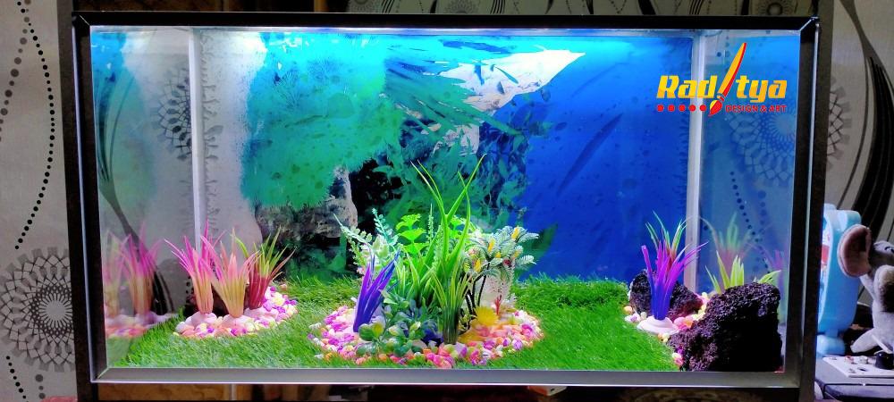 contoh rumput sintetis aquarium