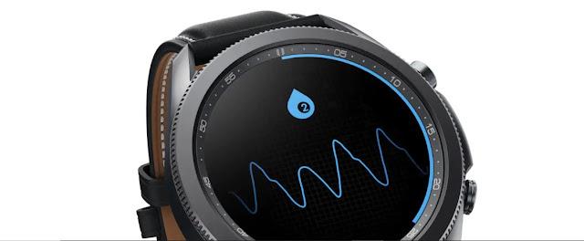 Galaxy Watch 3 LTE Blood Monitoring