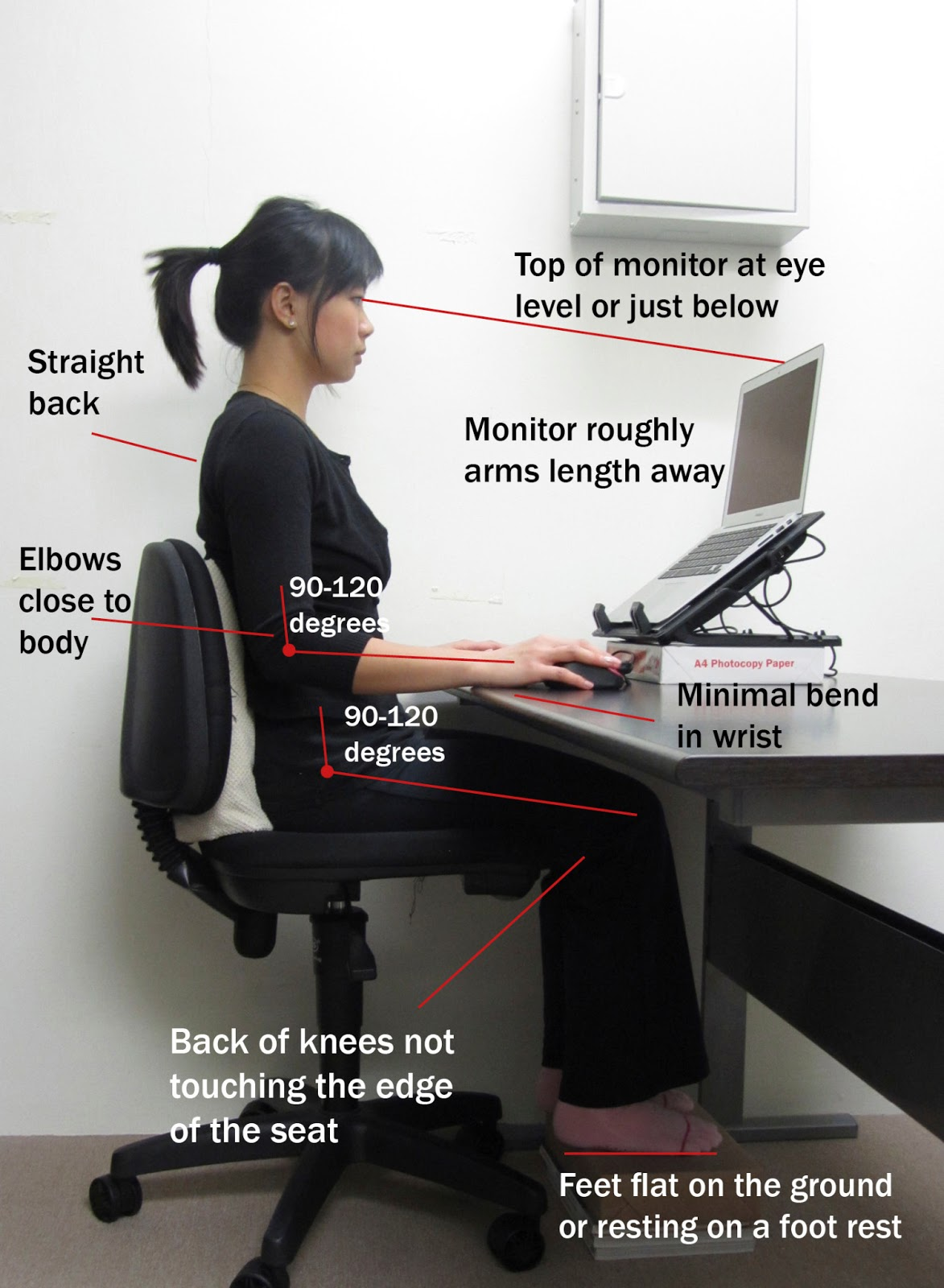 ergonomic chair keyboard position ironing board miracles happen january 2013