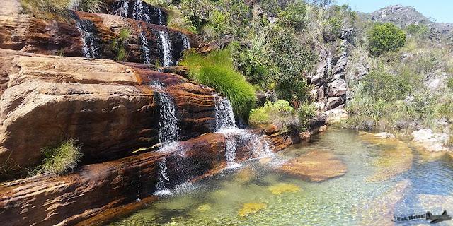 Cachoeira do Sentinela, Parque Biribiri, Vila do Biribiri, Diamantina, Minas Gerais, Caminho dos Diamantes, Estrada Real