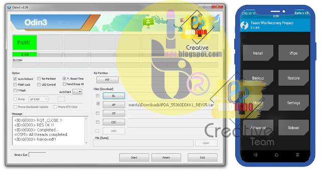 Cara Root dan Instal TWRP Samsung Galaxy J2 SM-J200G 5.1.1 Lollipop