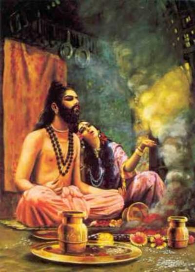 Hindu lord kashyapa pic