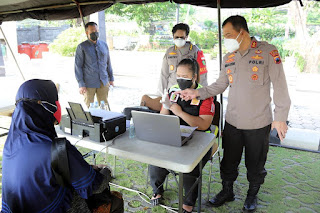 Kapolda Jateng: Gerai Presisi Diharapkan Mampu Membendung Laju Covid 19 di Jawa tengah