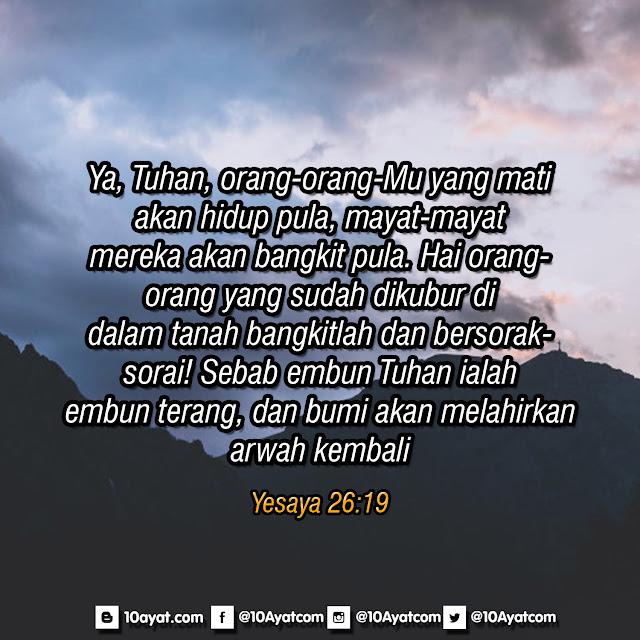 Yesaya 26:19
