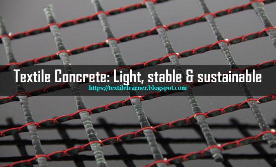 Textile concrete