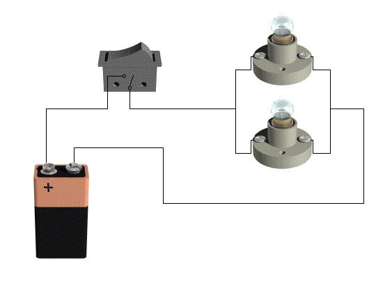 Circuito Paralelo Y En Serie : Tecnología º e s o circuito serie paralelo mixto