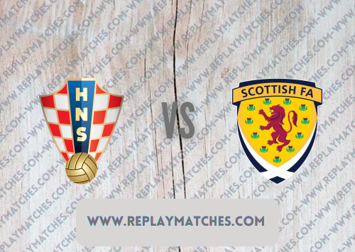 Croatia vs Scotland -Highlights 22 June 2021