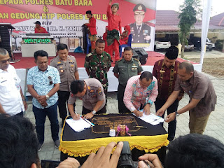 Resmikan Gedung RTP Di Polres Batubara, Bupati Zahir : Ruang Tahanan Agar Lebih Layak