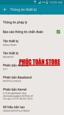 Tiếng Việt Samsung N910T 5.0.1 alt