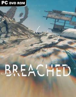 غلاف لعبة تجربة المغامرة في كوكب المريخ Breached