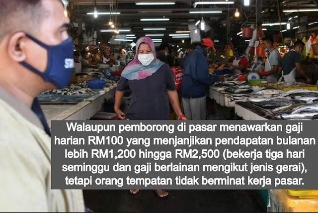 Inilah Punca Warga Asing Terus Memenuhi Pasar Borong